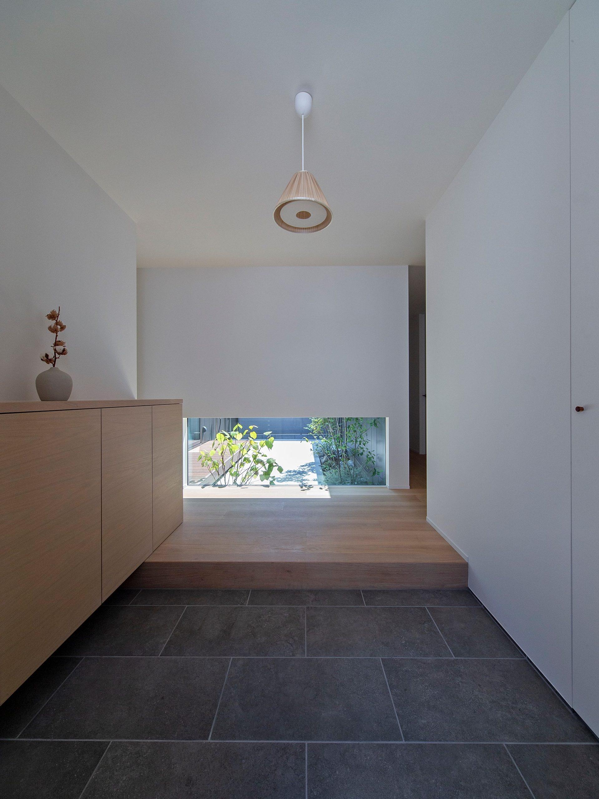 飾磨の家|玄関